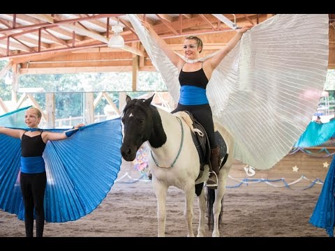 Do you Believe in Magic..? {Liberty, Equestrian Vaulting, and Aerial Arts}