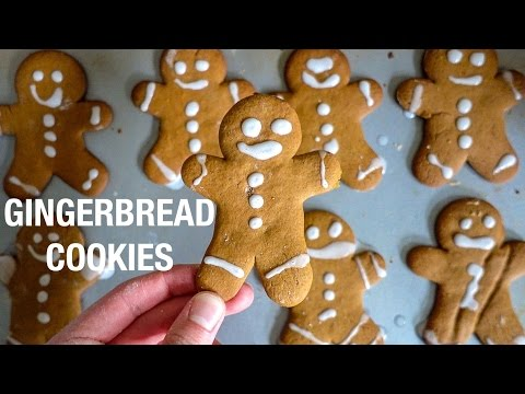 EASY Gingerbread Cookie Recipe!