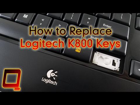 How to Replace Logitech K800 Keys