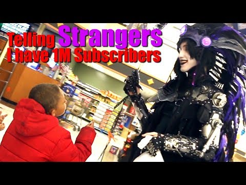 Telling STRANGERS I Have 1 Million Subscribers