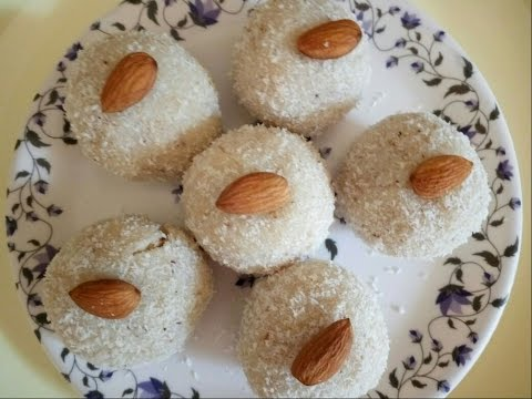 Coconut Ladoo recipe with condensed milk in Hindi /Diwali special/  sweets recipe By sneha kitchen
