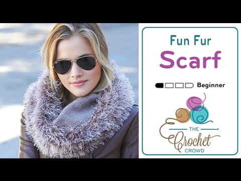 How To Knit a Fun Fur Scarf