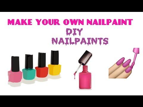 Make your own nailpaints at home 💅 |DIY Nailpaint/ Nail polish