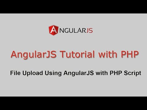 File Upload Using AngularJS with PHP Script