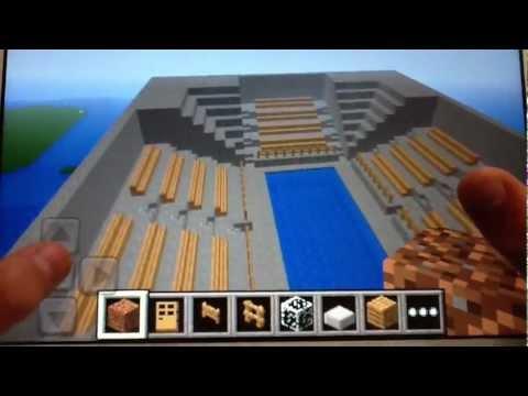 Minecraft PE Mega Build: Olympic Swimming Pool