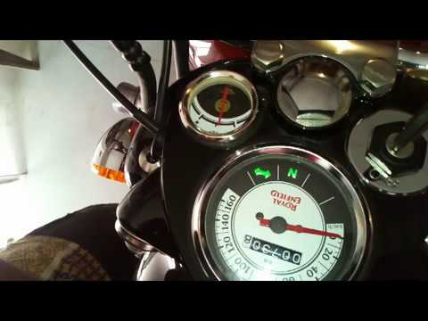 Royal Enfield How To Replacing blown fuse in Bulle   hindi
