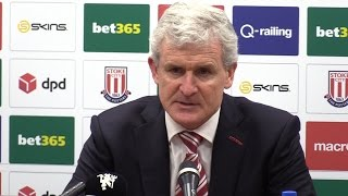 Stoke 1-1 Manchester United - Mark Hughes Full Post Match Press Conference