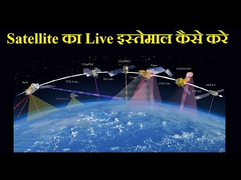 How To Use Satellite Sep By Step in Hindi | Google Earth Live Satellite View of Earth