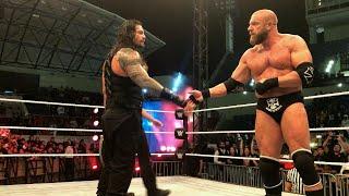 Roman Reigns earns Triple H