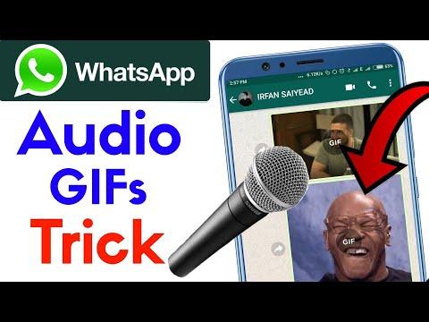 Latest Whatsapp GIF + MUSIC = Magic Tricks | Whatsapp New tricks 2018