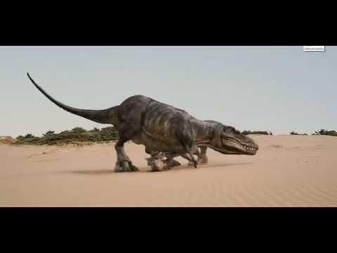 tarbosaurus vs tarchia [ dinosaurs alive ]