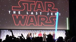 "FAN REACTION: ""The Last Jedi"" trailer debuts at Star Wars Celebration 2017 in Orlando"