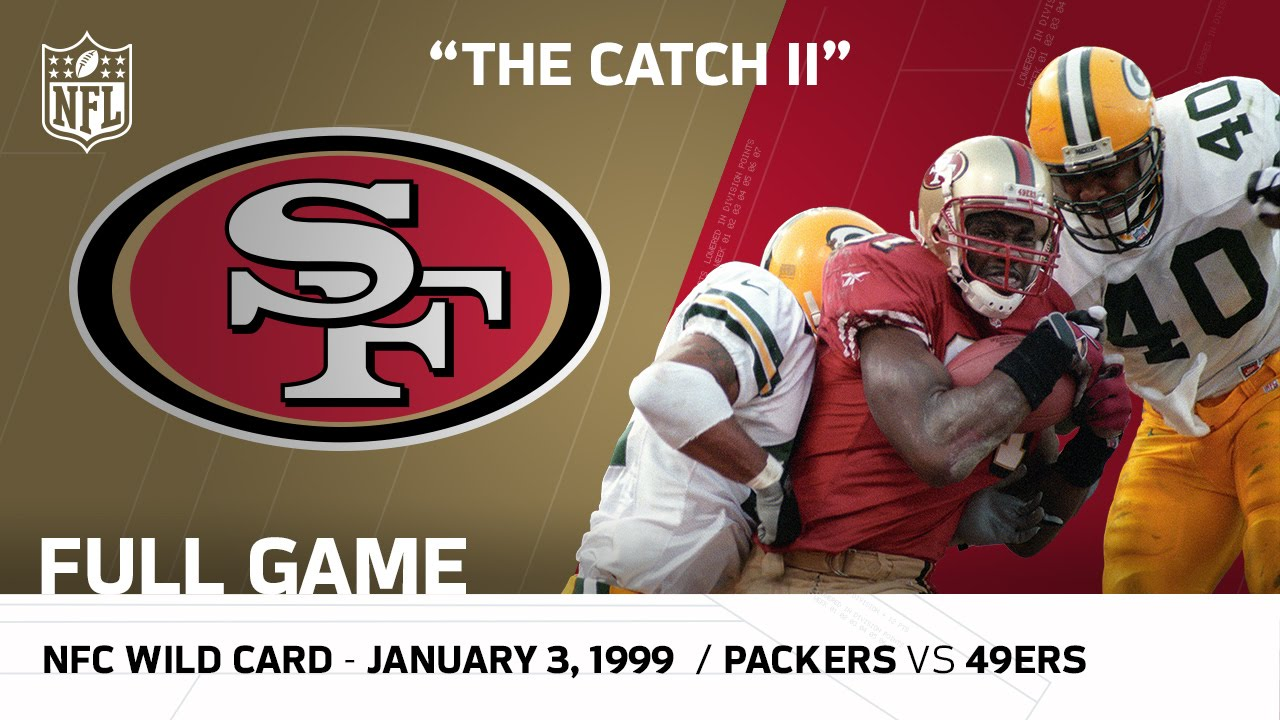"""""""The Catch II"""" Packers vs. 49ers 1998 NFC Wild Card Playoffs   NFL Full Game"""
