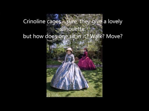 moving in a crinoline 1