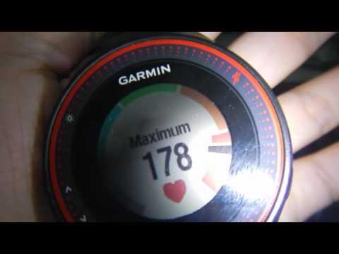 Garmin FR225 Heart rate accuracy