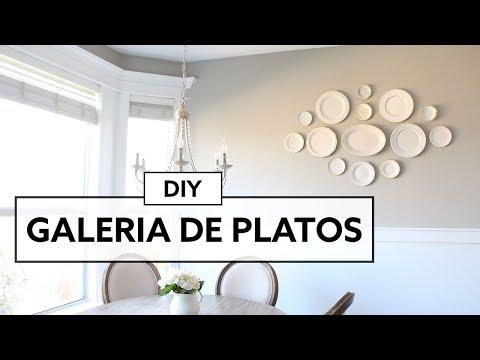 DIY - Plate Wall Decor Thrift store - Galeria de Platos