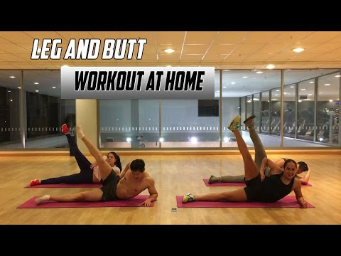 Toned Legs and Butt Workout | Workout at Home | 5 Minute Leg and Butt Workout Routine At Home