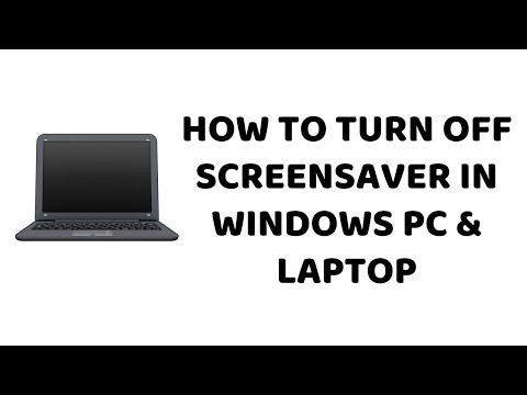 How To Turn Off Screensaver In Windows PC & Laptop   Tutorials In Hindi