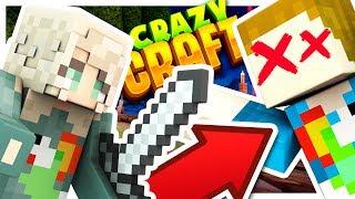 MY GIRLFRIEND KILLED ME!! - Crazy Craft #7