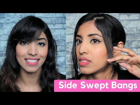 How To Cut Your Own Side Swept Bangs(Cut 'Em Like a Bawse 2018)