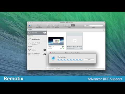 Remotix for Mac - access all your computers from anywhere