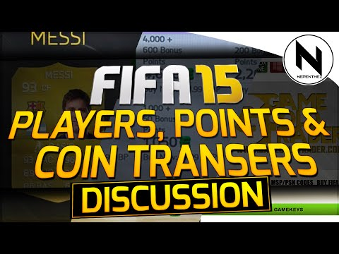 FIFA 15 Ultimate Team - Transferring Coins, Players & FIFA Points Over!!