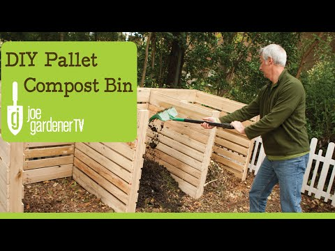 How to Make a Compost Bin for Free Using Shipping Pallets