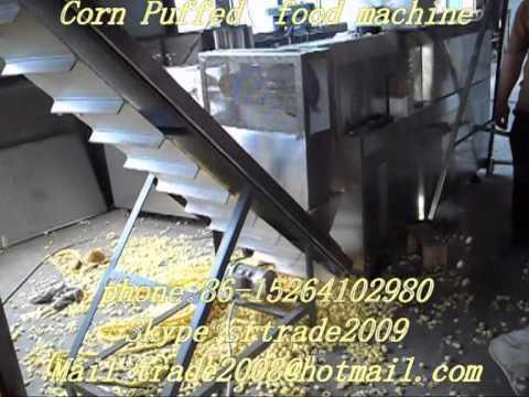cheese ball snacks food equipment  puffed food machine