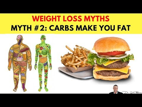 🍽️ Myth #2: Carbs Make You Fat - Top 10 Biggest Myths & Lies About Weight Loss