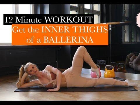 BALLERINA INNER THIGHS / TrainLikeaBallerina