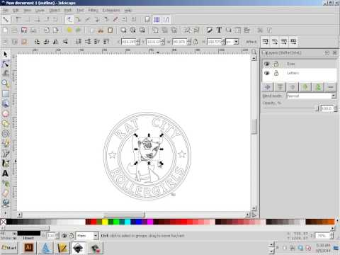 0204 Inkscape Convert a Low Res Logo to Vector Art