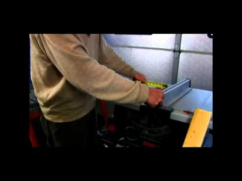 How to Cut a Rabbit Using a Table Saw