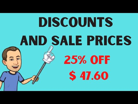 Discount Formula-Finding the Discount and Original Price