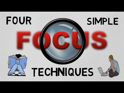 4 TECHNIQUES 2 FOCUS ON WORK/STUDIES (HINDI)  - THE POWER OF CONCENTRATION