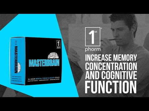 1st Phorm MasterBrain Review  - Increase Memory, Concentration and Cognitive Function