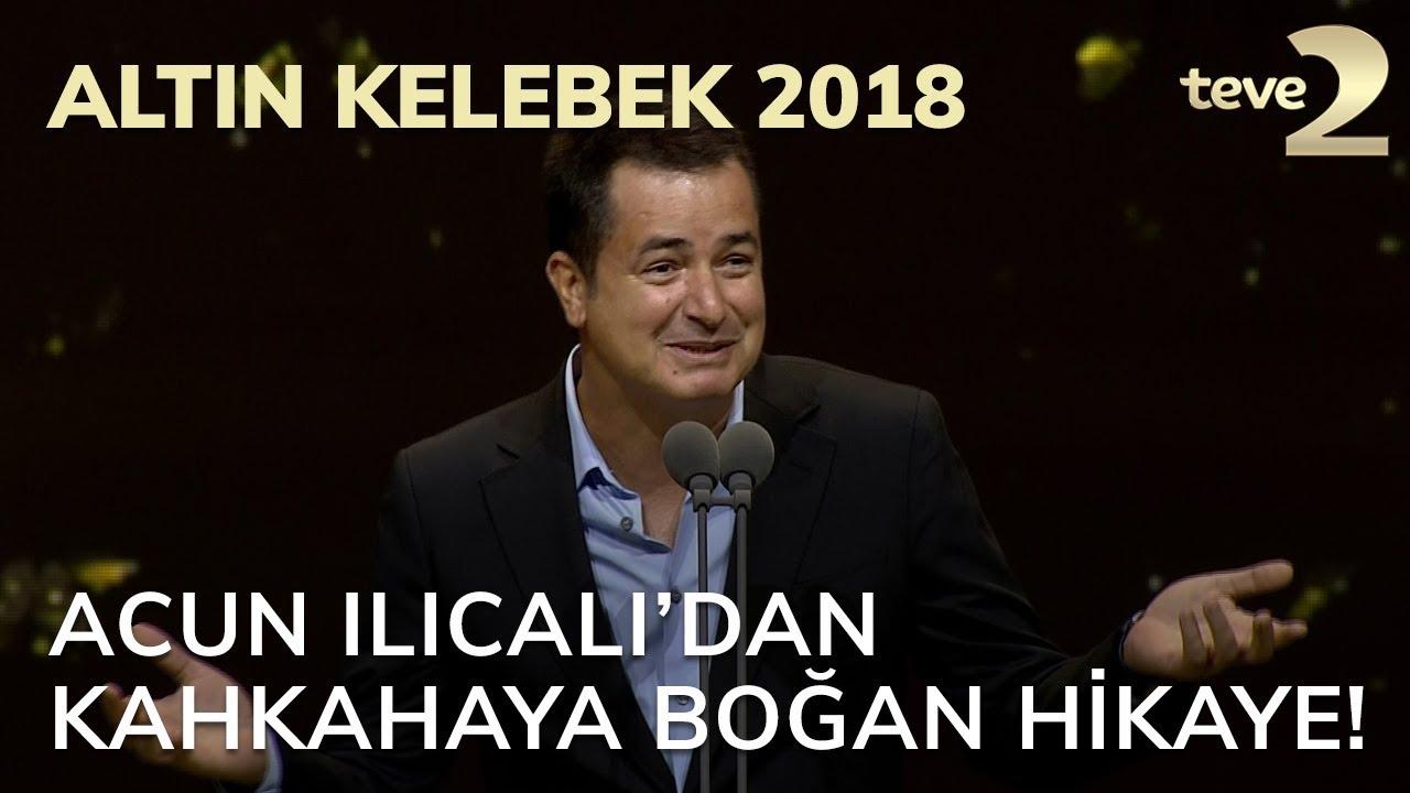 Altın Kelebek 2018: Acun Ilıcalı'dan herkesi kahkahaya boğan hikaye!