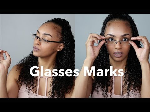 Prevent & Treat Glasses Marks | MassAppealAri
