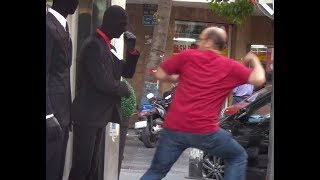 Giving People Heart Attacks mannequin Scare Prank 4