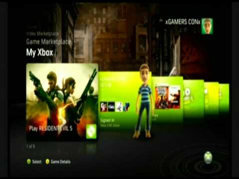 Xbox-360: How to change the 360's start up.
