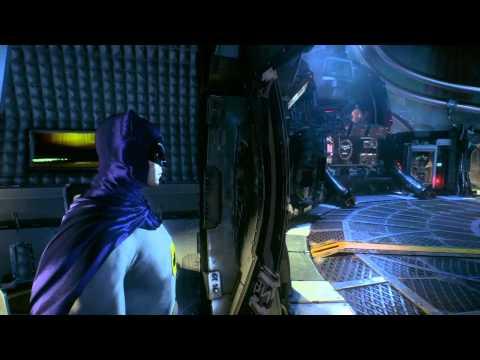 BATMAN ARKHAM KNIGHT Adam West Batman Skin Unmasking