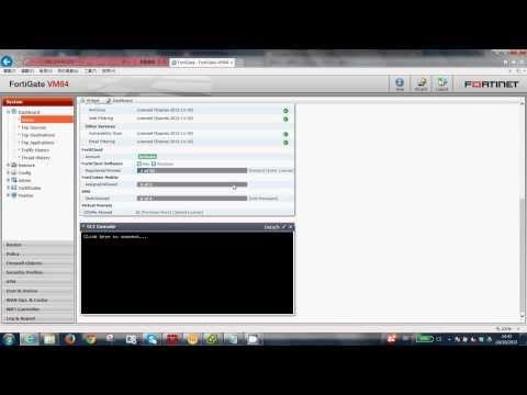 Fortigate UTM feature (Anti-virus, Web filter, Application Control, DLP and Traffic shape)