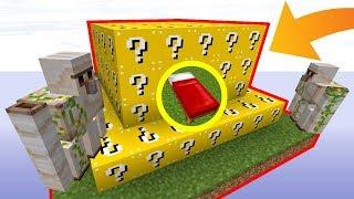 UNE BASE ULTRA SÉCURISÉE AVEC DES LUCKY BLOCKS ! | Minecraft Bed Wars