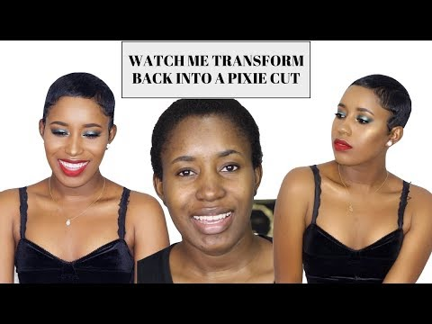 WATCH ME TRANSFORM: FROM NATURAL HAIR TO RELAXED HAIR | BACK INTO MY PIXIE CUT!