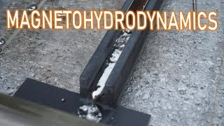 Magnetohydrodynamics - Propelling Liquid Metal with Magnets!
