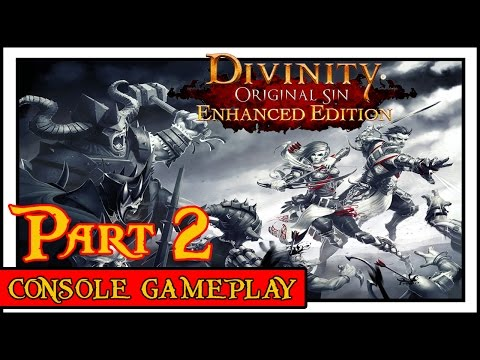 Divinity Original Sin Enhanced Edition: Episode 2 - A Mysterious Murder! (Console Gameplay)