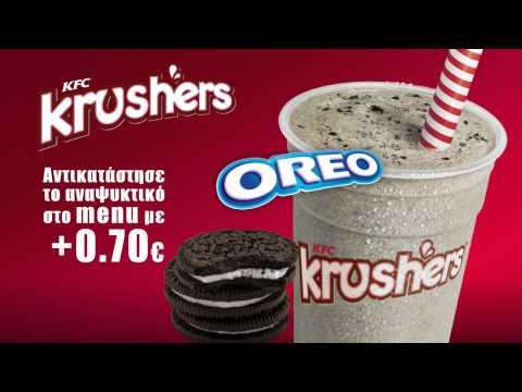 KFC Krushers Menuboard