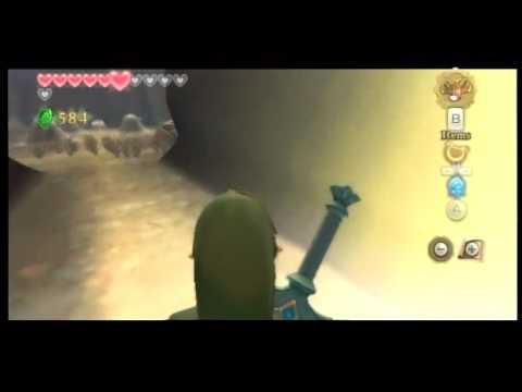 Skyward Sword: Behind loading zone glitch