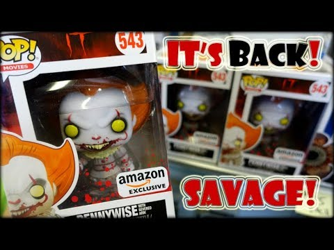 PENNYWISE AMAZON EXCLUSIVE FUNKO POP HUNT @The Big Pop Shop