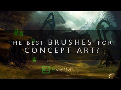 The Best Brushes For Concept Art? - Concept Art Basics - Digital Painting
