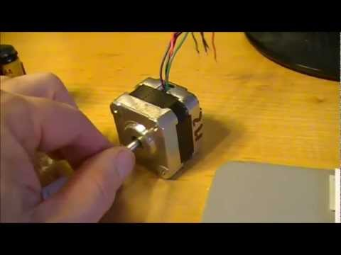 Stepper motor project for PIC